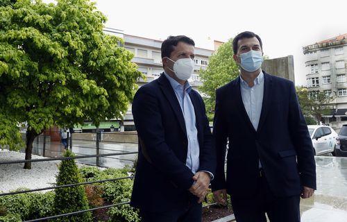 José Ramón Romero y Gonzalo Caballero