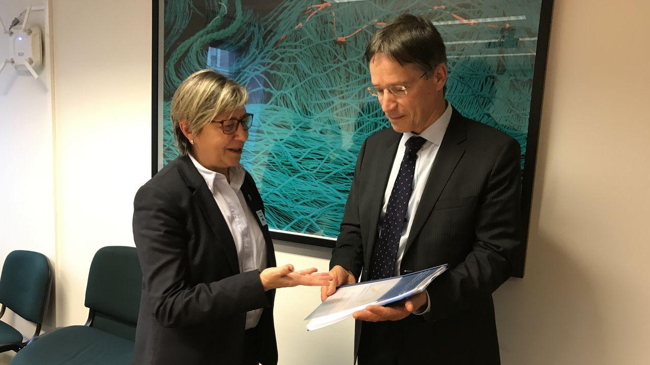 El impacto socioeconómico de la pesca.Jean Claude-Juncker, en su última comparecencia como presidente de la Comisión Europea en la abarrotada sala de prensa del edificio Berlaymont, la sede del Ejecutivo de Bruselas