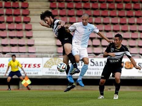 La victoria del Racing sobre el Langreo, en fotos.El Compos empató sin goles sus dos últimos partidos.