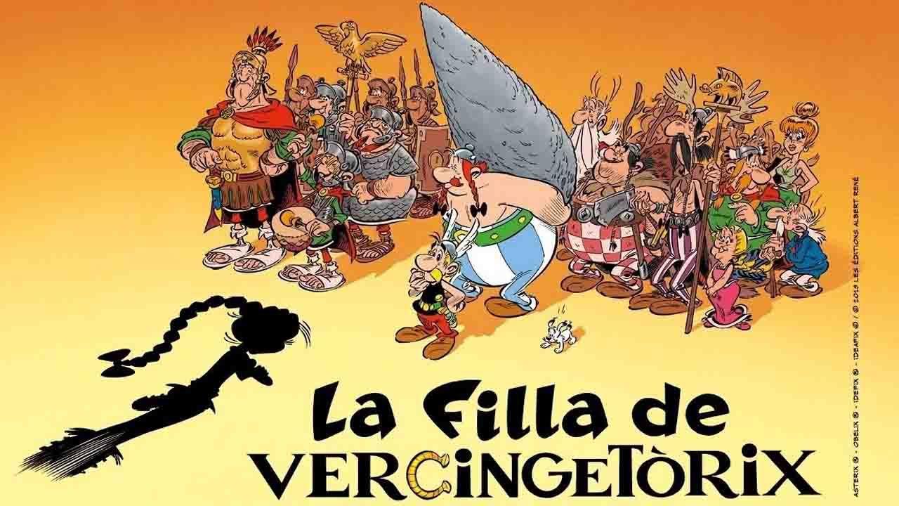 La filla de Vercingetòrix, versión n'asturianu de Asterix y Obélix