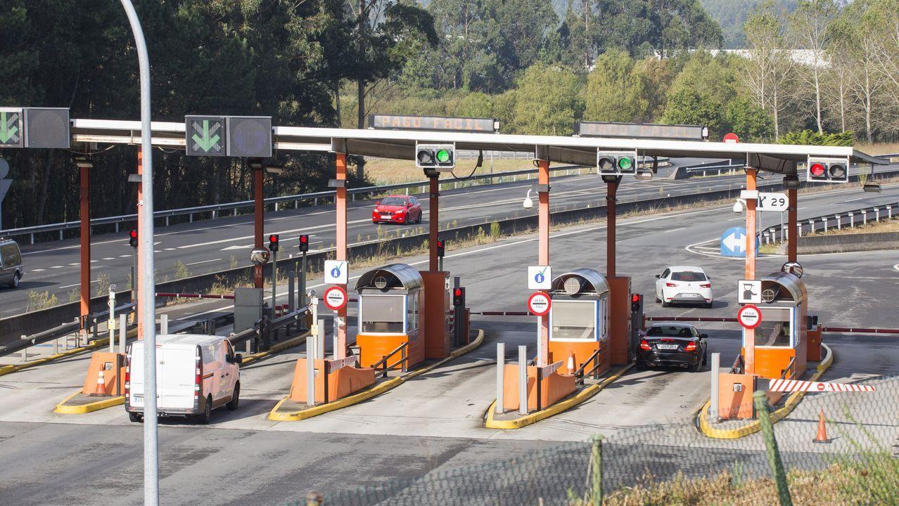 Imagen de archivo de un control de velocidad de la Guardia Civil de Tráfico