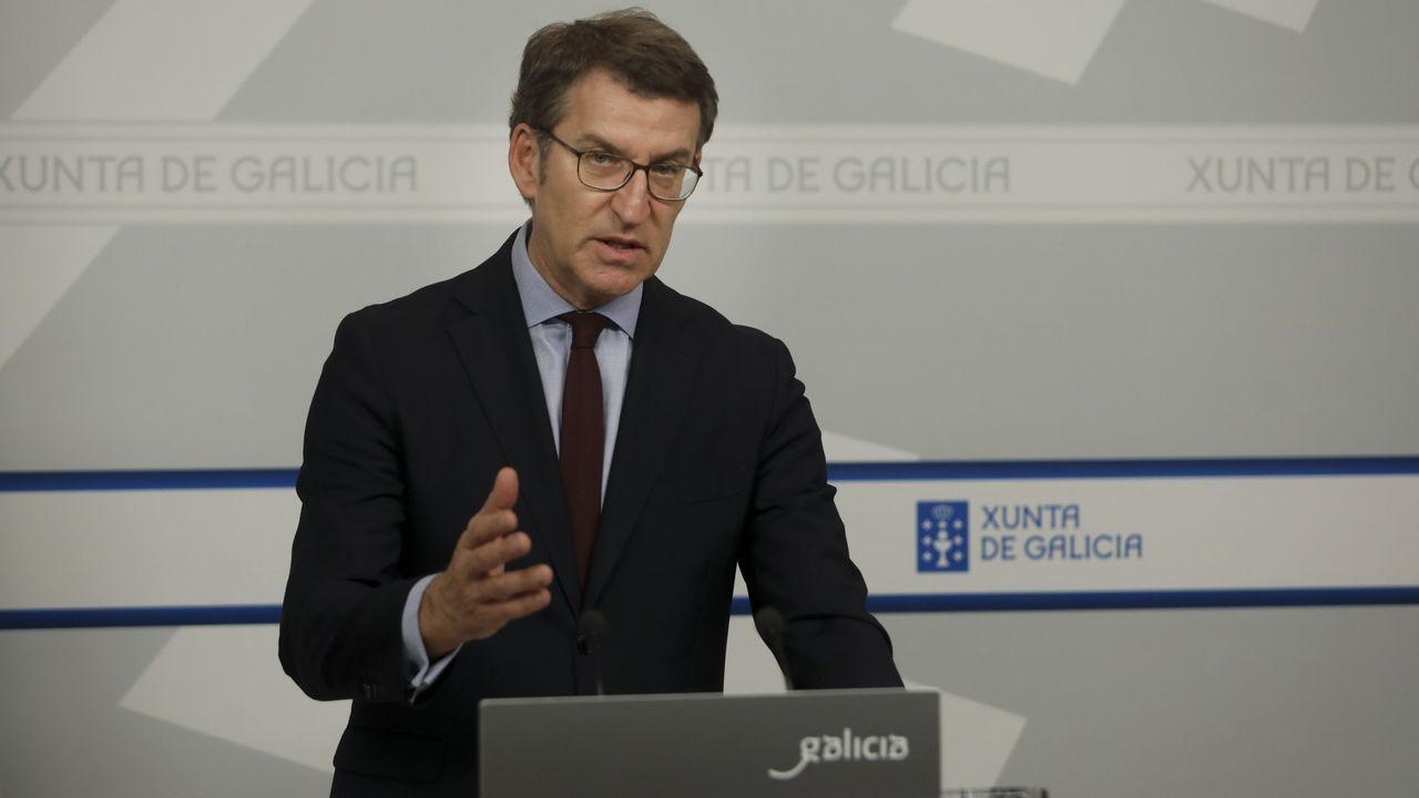 EN DIRECTO | Núñez Feijoo comparece tras reunirse con las fuerzas políticas