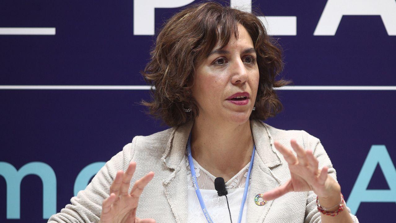 Pleno ordinario del mes de enero en Vigo.Irene Lozano