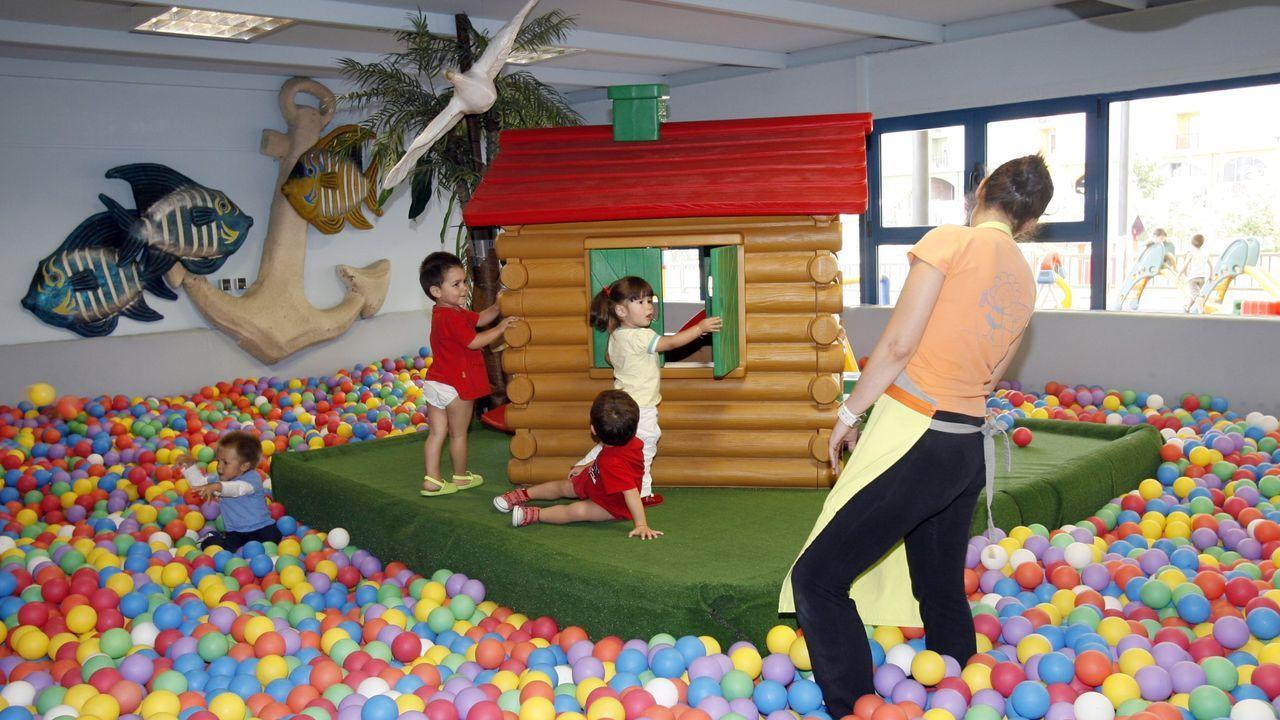 Imagen de archivo de la escuela infantil municipal de Viveiro, una de las instalaciones que el Concello cerrará del 14 al 29 de marzo