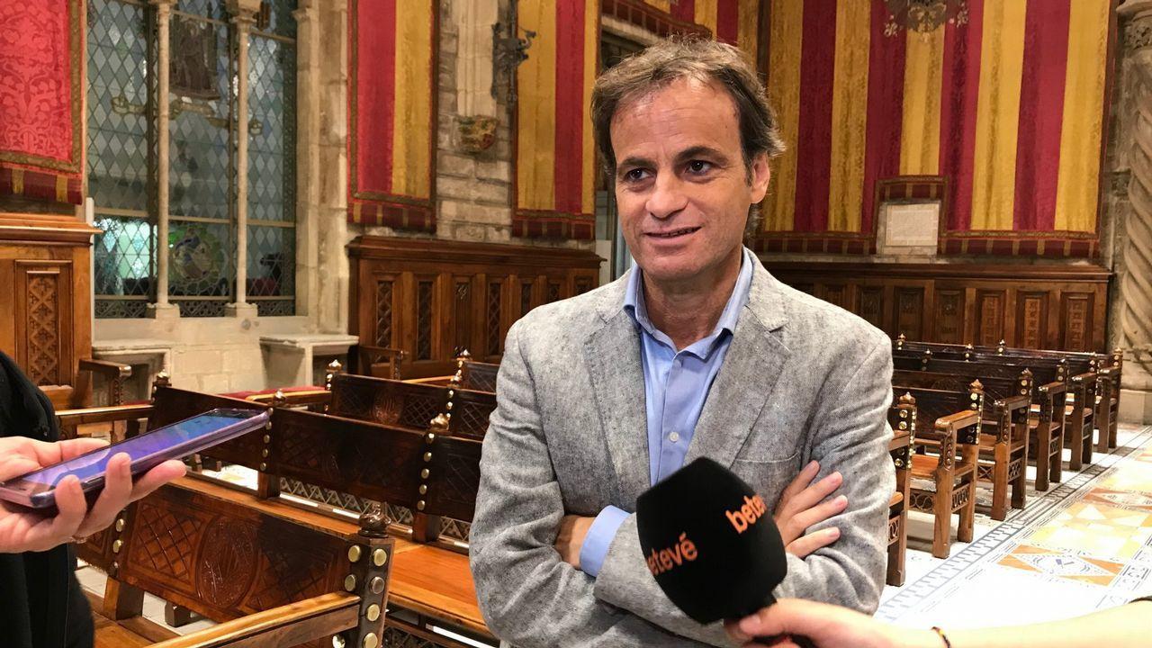 Jaume Asens, cabeza de lista de En Comú Podem para las elecciones generales