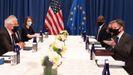 Borrell y Blinken refuerzan su alianza en una reunión en Nueva York.