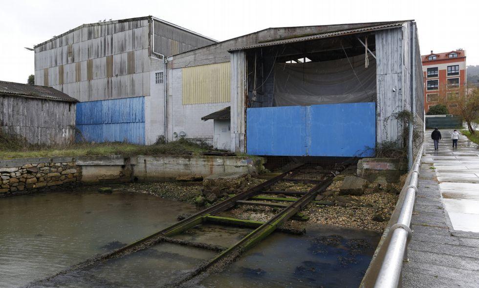 El astillero cabanés llevaba años sin actividad aparente.