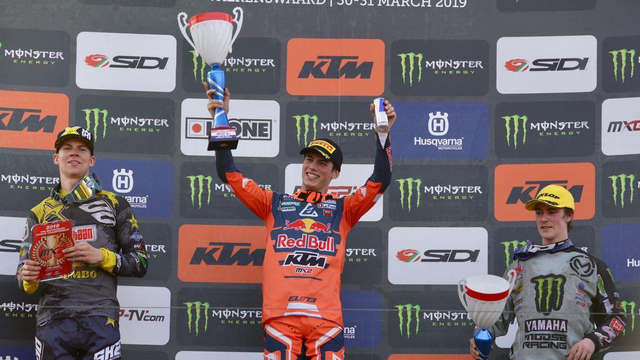 Jorge Prado: «Ha sido increíble».Mundial de motocrós