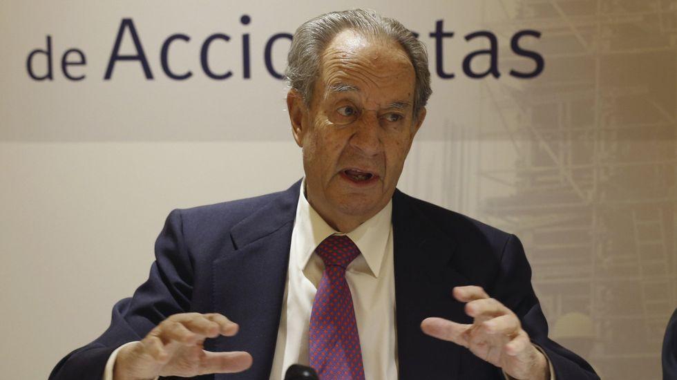 El presidente de la constructora OHL, Juan Miguel Villar Mir