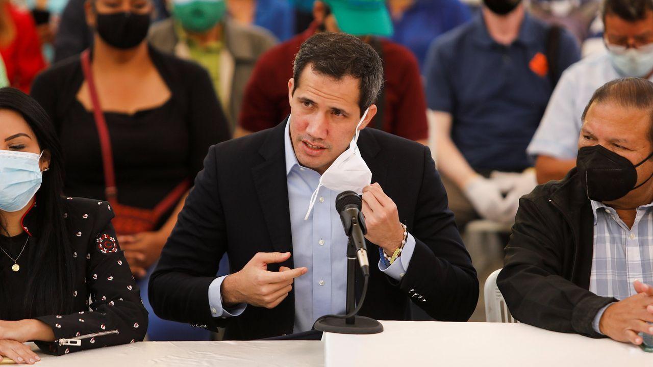 Guaidó anunció el fin de semana que ha dado positivo en covid