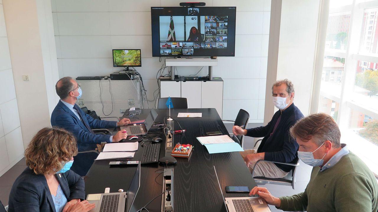 Consejo interterriotorial de Sanidad telemático entre las comunidades autonomas y el GObierno central