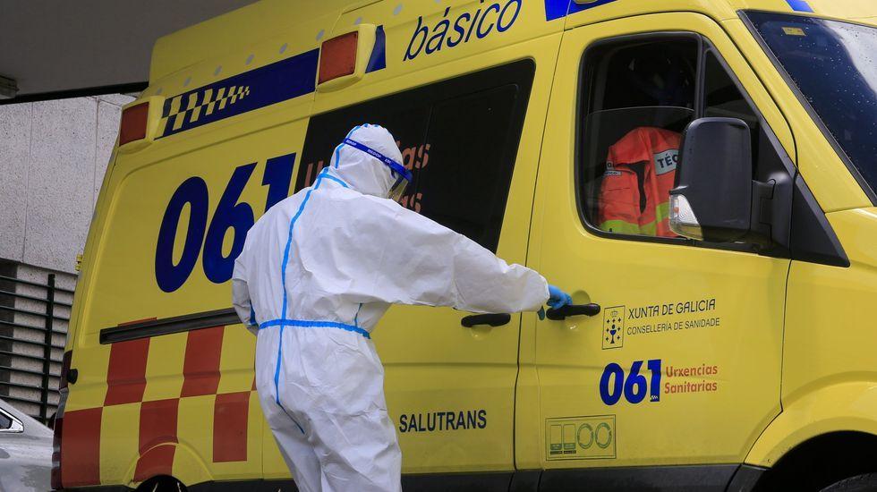 El hospital de Monforte terminó esta semana con siete pacientes con covid-19 ingresados