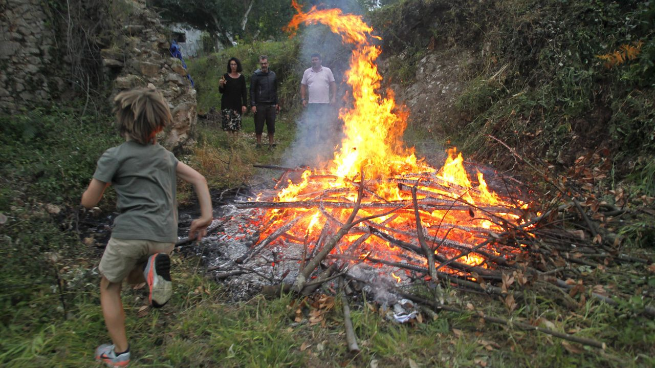 La celebración del San Xoán en Ferrolterra.Aula taller del Ferrolterra