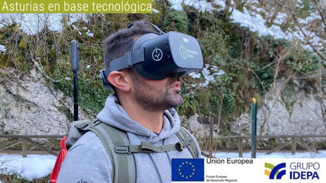 Gafas de realidad virtual de Immersive Oasis