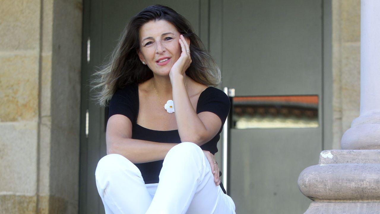 Errejón: «Cada escaño que saquemos será para el acuerdo».Yolanda Díaz, diputada de Unidas Podemos