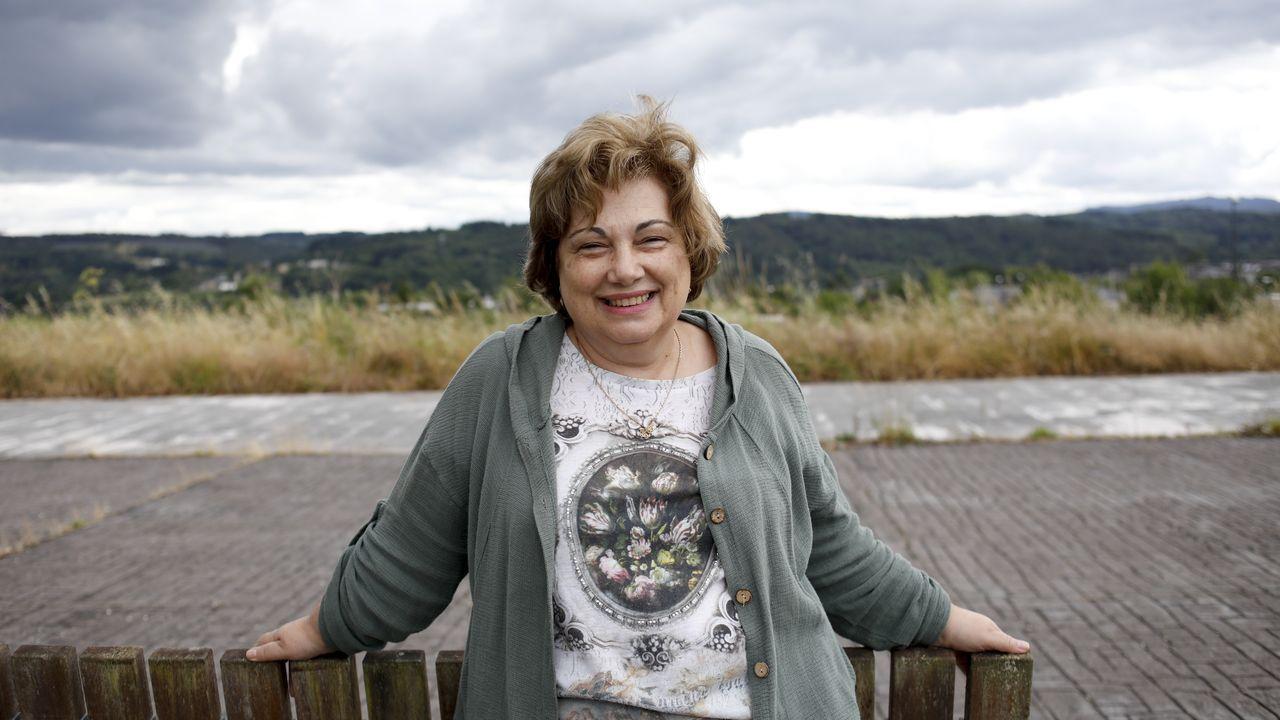 Turistas en Lugo, seguros ante el covid-19.Mari Carmen Casasnovas loita pola igualdade de xénero