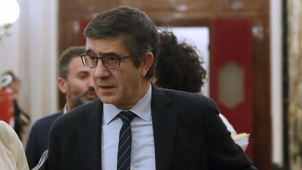 Patxi López confirma que la segunda votación se celebrará la noche del viernes