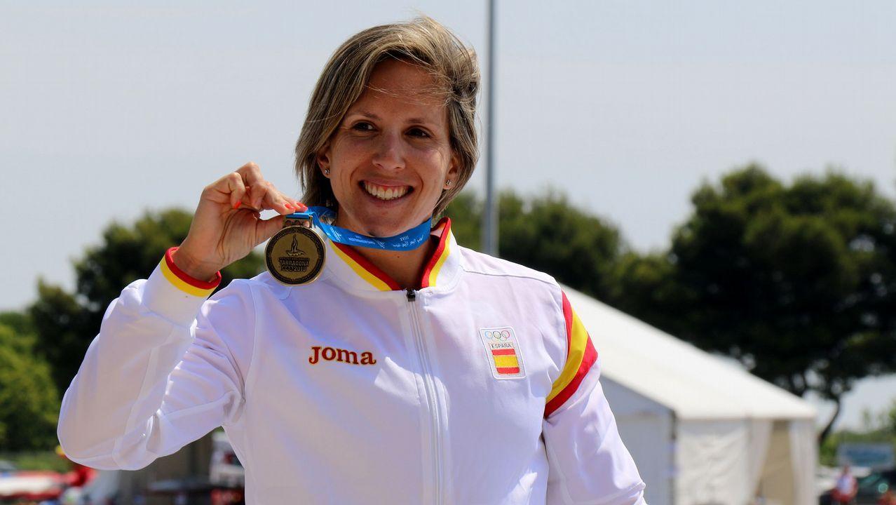 Teresa Portela. Leyenda viva del piragüismo gallego y español, busca los que serán sus sextos Juegos Olímpicos.