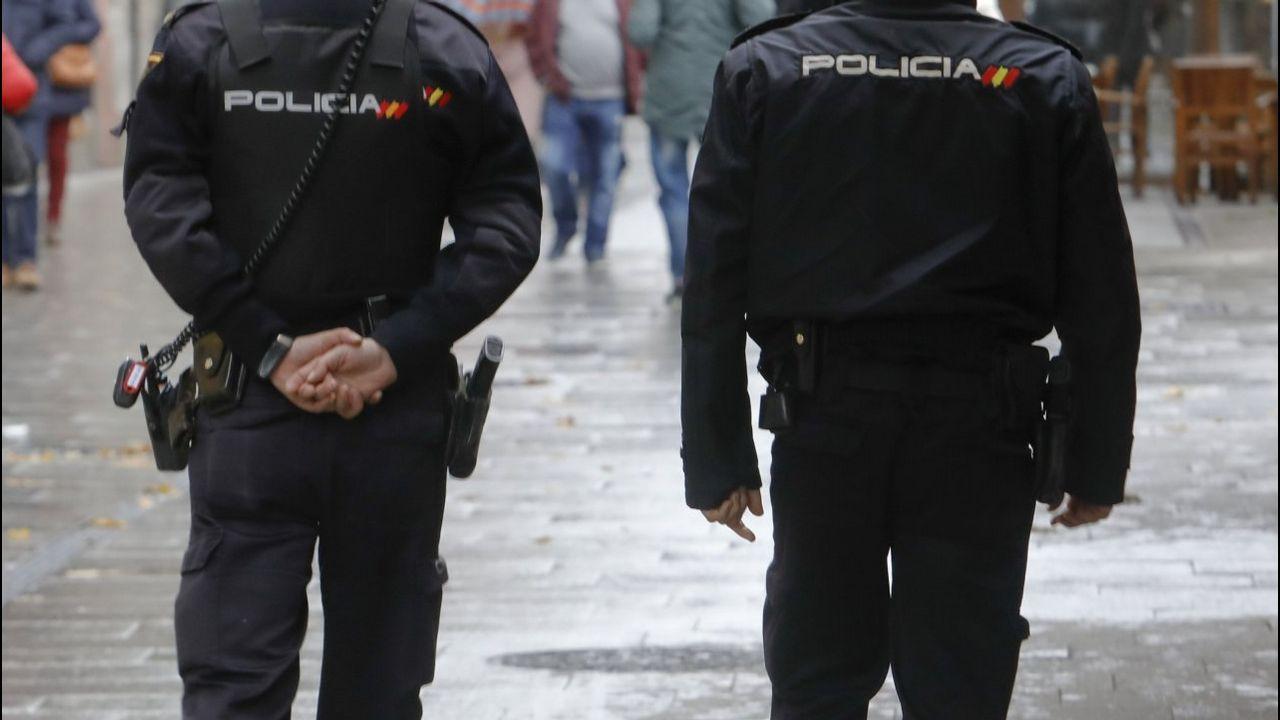 «Al llegar ahora a Trabada, para nosotros comienza una nueva vida».La sospechosa fue interceptada en los pasillos del hospital de Guadalajara