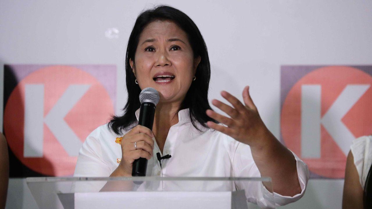La jornada de limpieza de Coidemos Lugo, en imágenes.La candidata a la presidencia de Perú, Keiko Fujimori