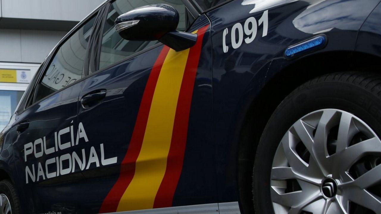 Un coche de la Policía Nacional, en una imagen de archivo