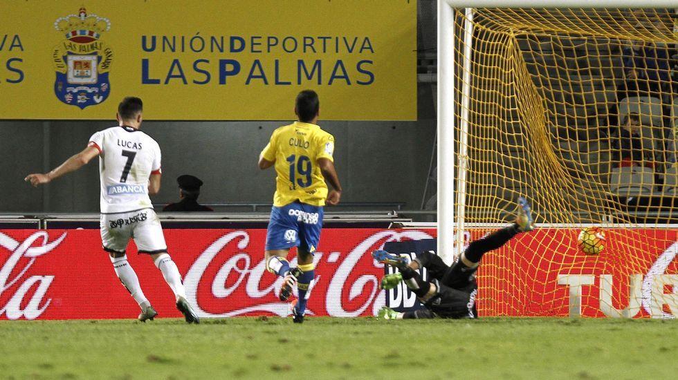 El Las Palmas-Deportivo, en fotos