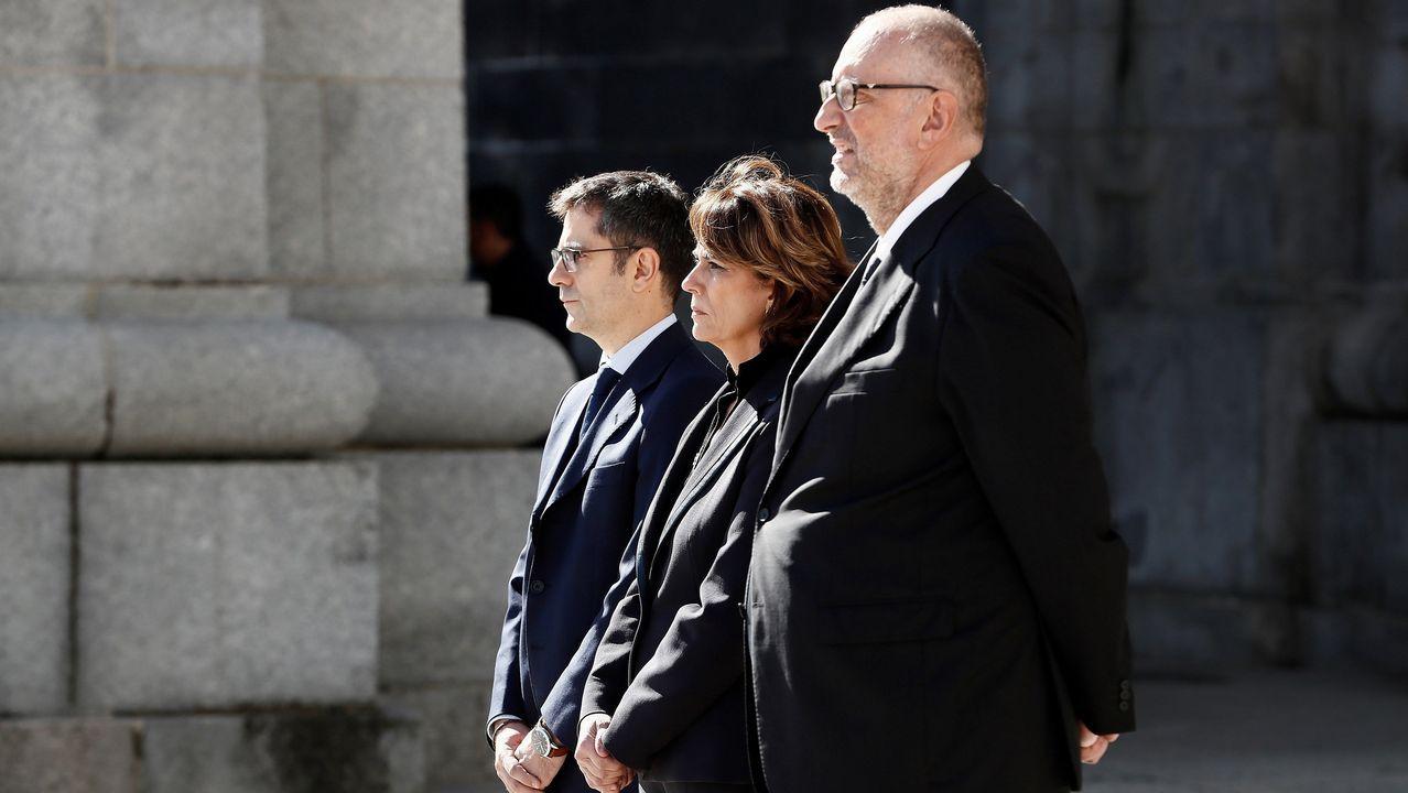 Félix Bolaños, Dolores Delgado y Antonio Hidalgo López