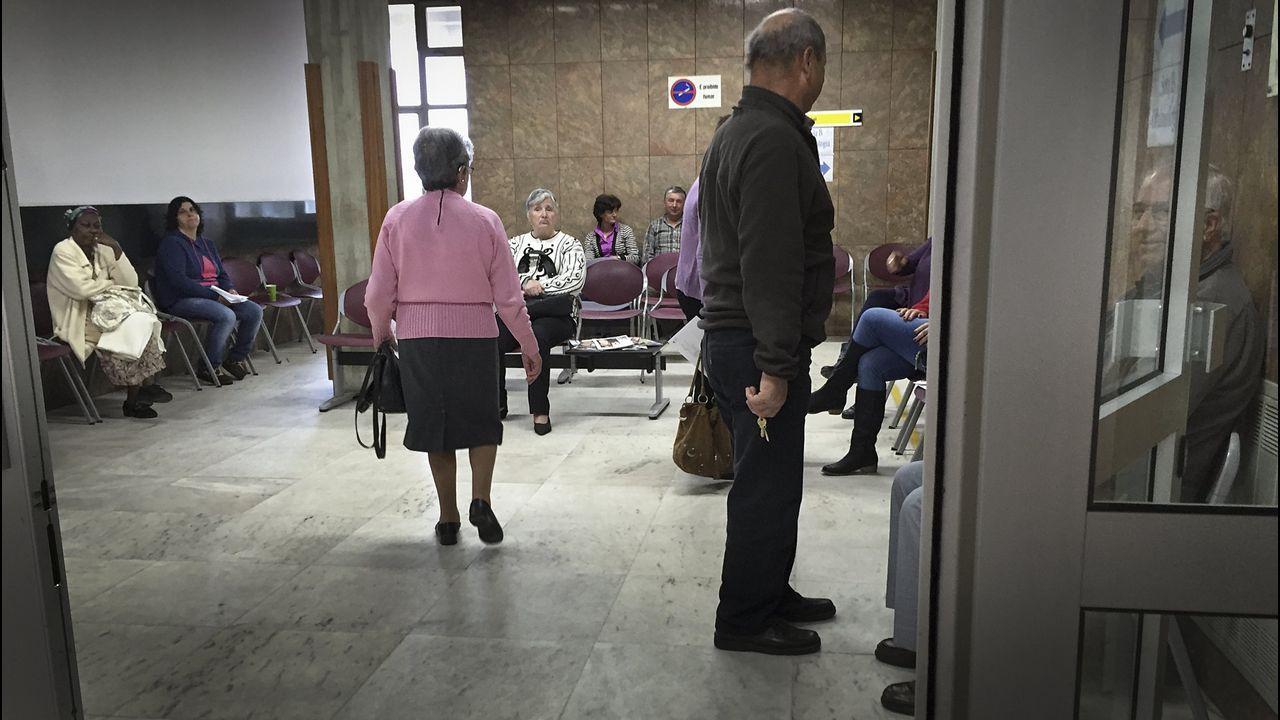 Imagen de archivo de la sala de espera del Hospital Santa Luzia de Viana do Castelo