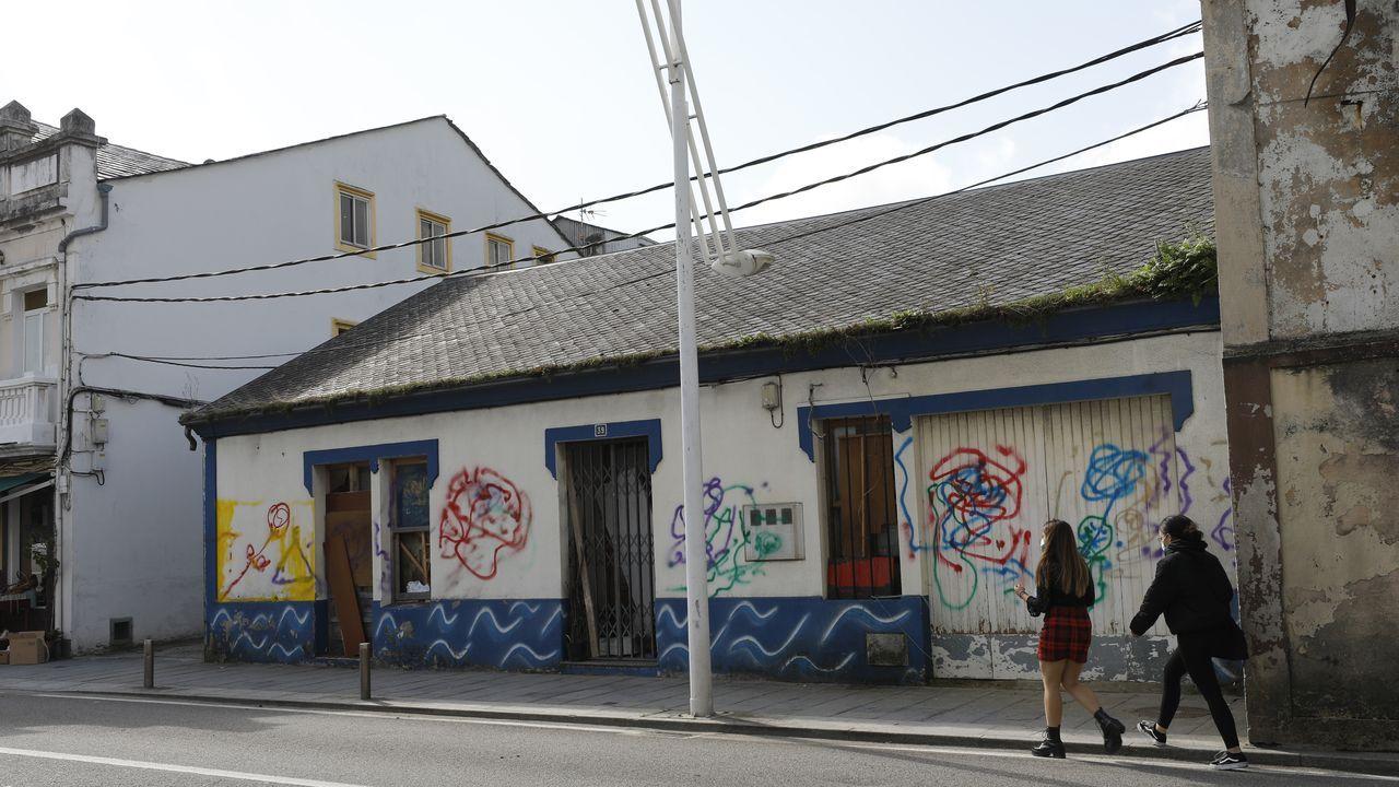 Movilización contra okupas de viviendas en Lugo, hace un año