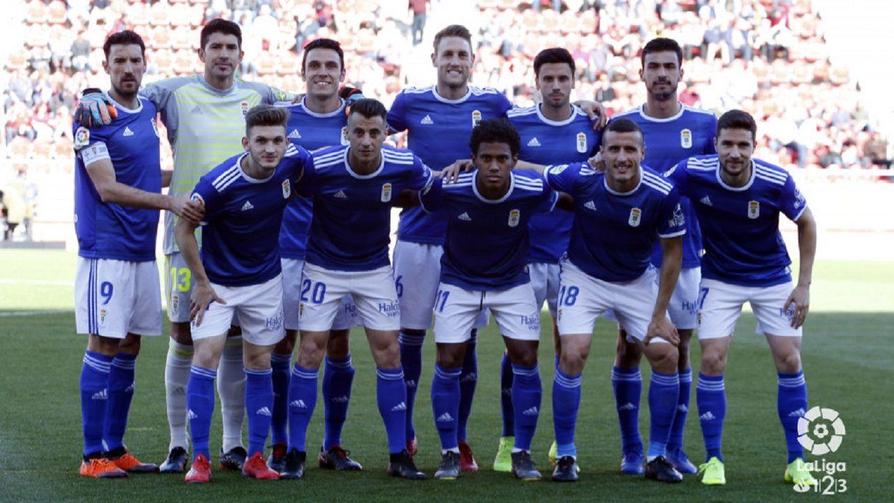 Alineación del Oviedo ante el Mallorca