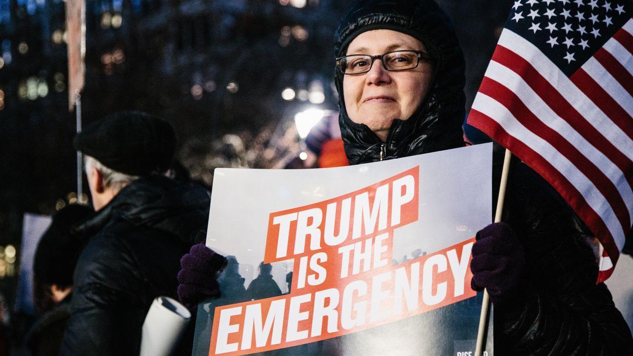 California lidera al grupo de 16 estados que ha denunciado la declaración de emergencia de Trump