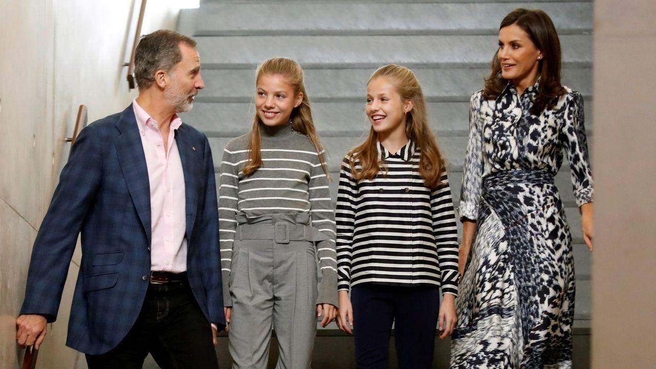 En los premios Princesa de Gerona, donde la princesa Leonor intervino por primera vez en el 2019