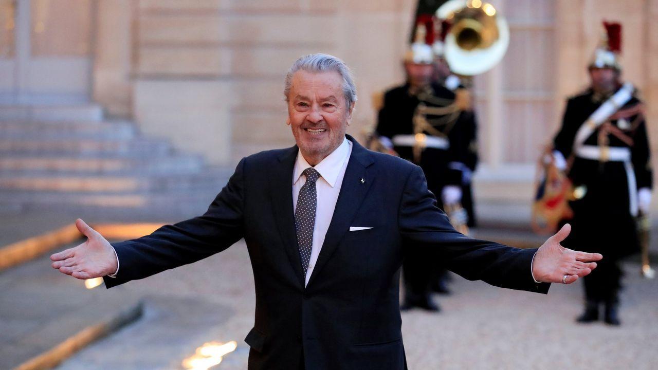 Cannes, en imágenes.Bill Murray posa para los fotógrafos durante la presentación de la cinta