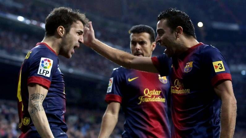 Nueva equipación del Barça para la temporada 2013-14.Álvaro Vázquez celebra el 3-0 de España a Holanda