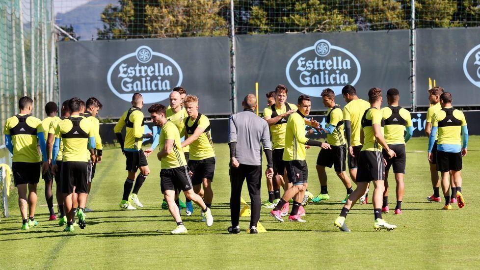El Celta prepara la visita del Real Madrid