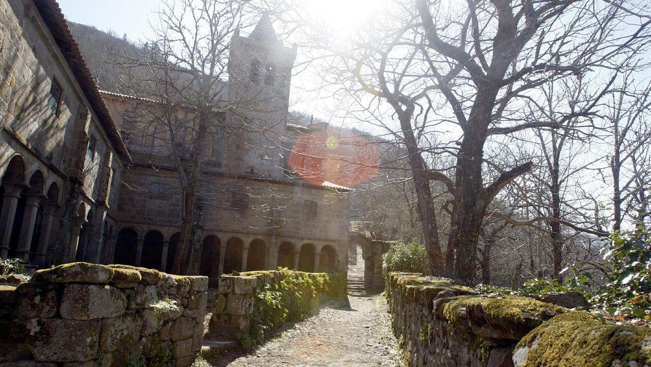 Imagen del monasterio de Santa Cristina