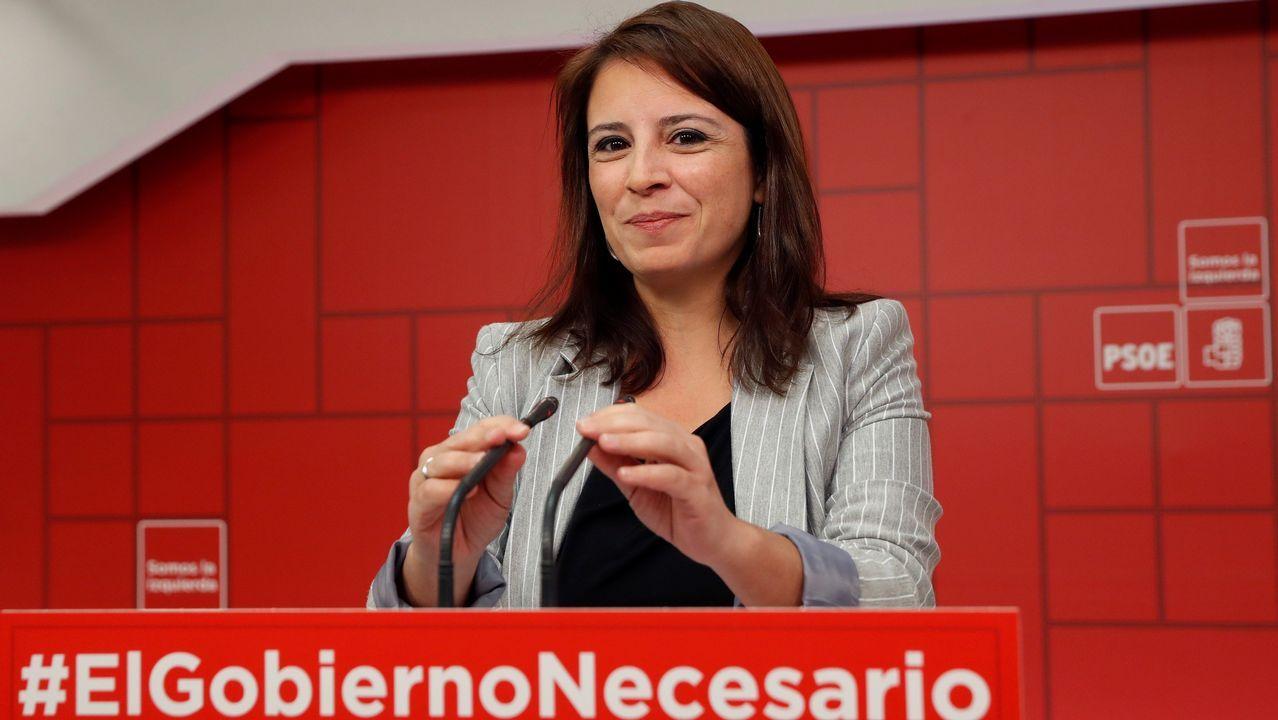 | EFE.Adriana Lastra reiteró lo que ya dijo Pedro Sánchez hace tiempo, que sin Presupuestos la legislatura se acorta