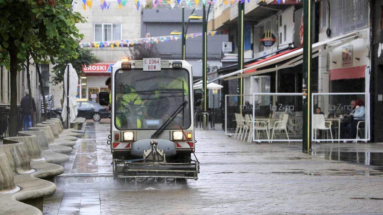 Hasta el momento, es Urbaser quien gestiona la basura y la limpieza en Lugo