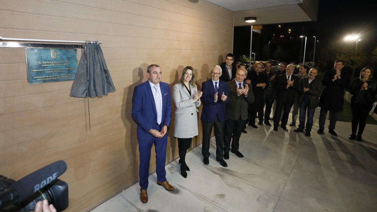 La UNED estrena nueva sede.Pilar de Lara durante una charla sobre nuevos delitos
