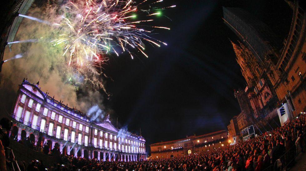 Los fuegos conquistan Santiago
