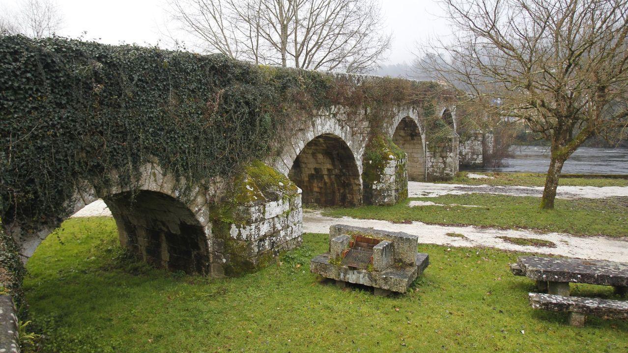 Ponte Ledesma, en el Concello de Boqueixón