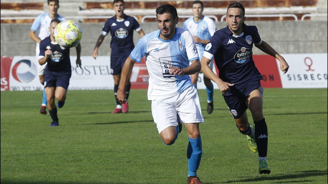 Las mejores imágenes del Deportivo - Almería