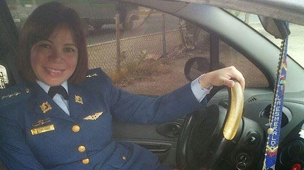Laided Salazar. Sin afiliación política. Capitana de Aviación, fue detenida en el 2014 por conspirar para dar un golpe de Estado contra Maduro. Condenada a casi 9 años.