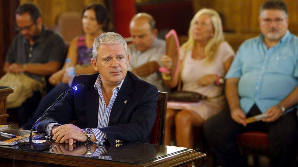 Principales responsables de la trama Gürtel.Rafael Betoret, ex jefe de gabinete de la Consellería de Turismo, declaró en el juicio de la trama Gürtel.
