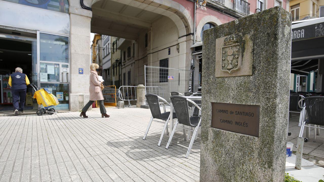 El muelle es el kilómetro cero del trazado, que discurre por seis concellos de la comarca