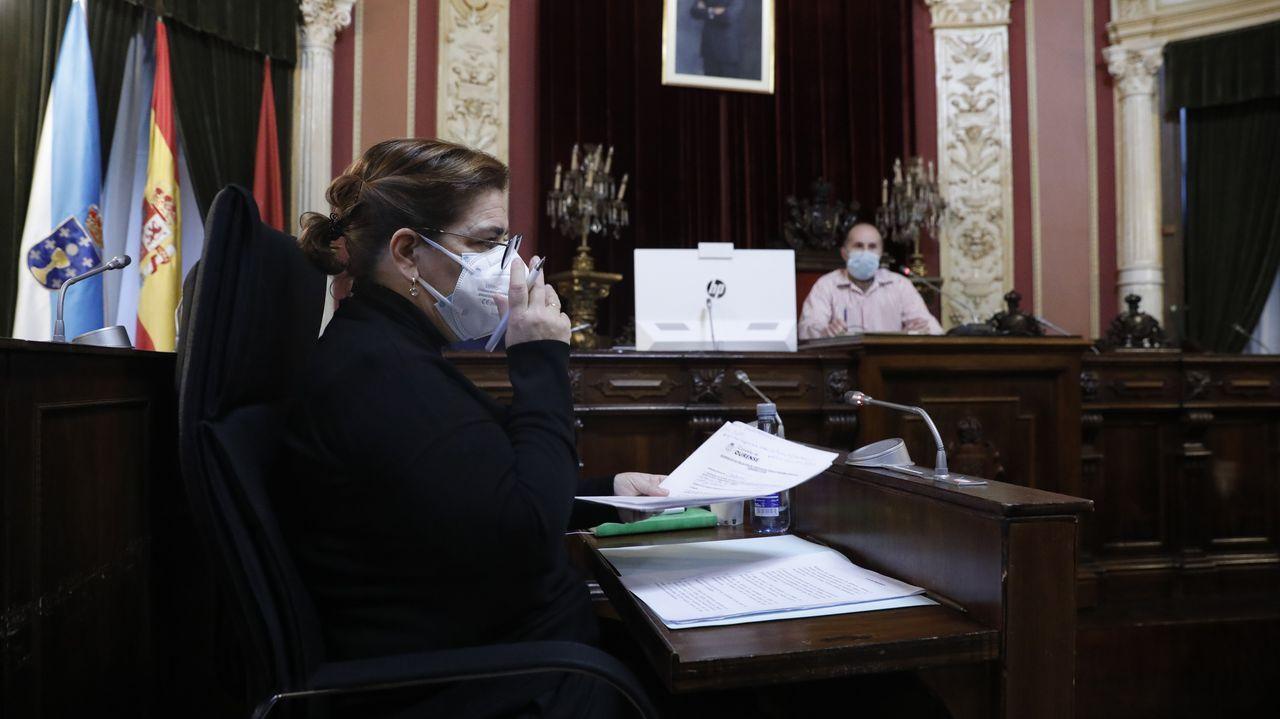 Flora Moure, del PP, de nuevo en la Junta de Gobierno de Jácome