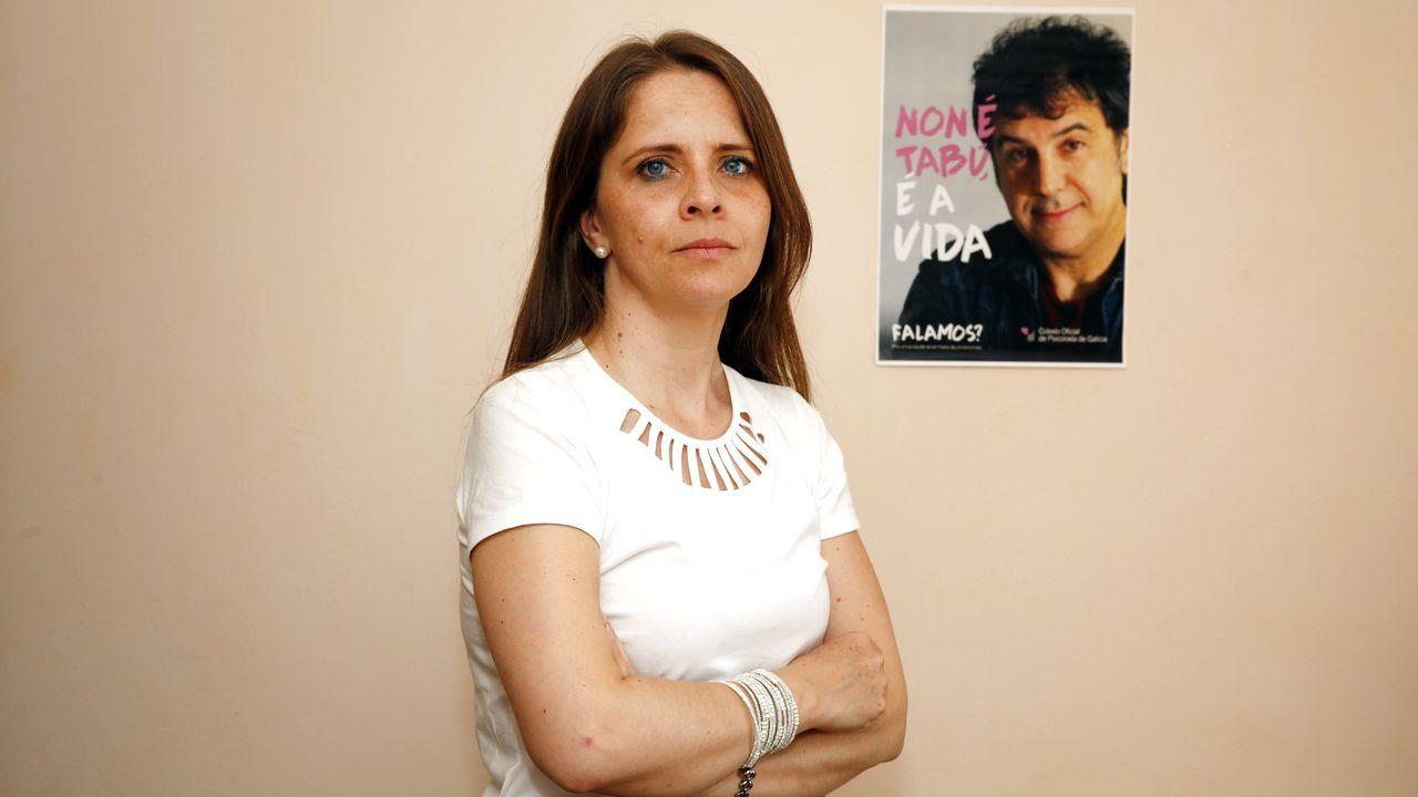 Mariluz Losada, coordinadora del programa de Atención Psicolóxica a Mulleres que Sofren Violencia de Xénero