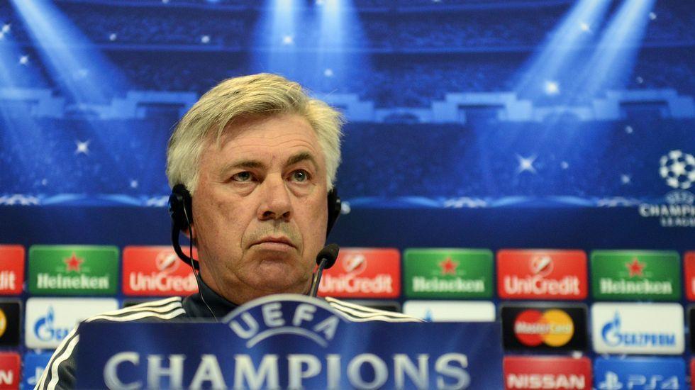 Ancelotti: «Tenemos que convivir con las lesiones»