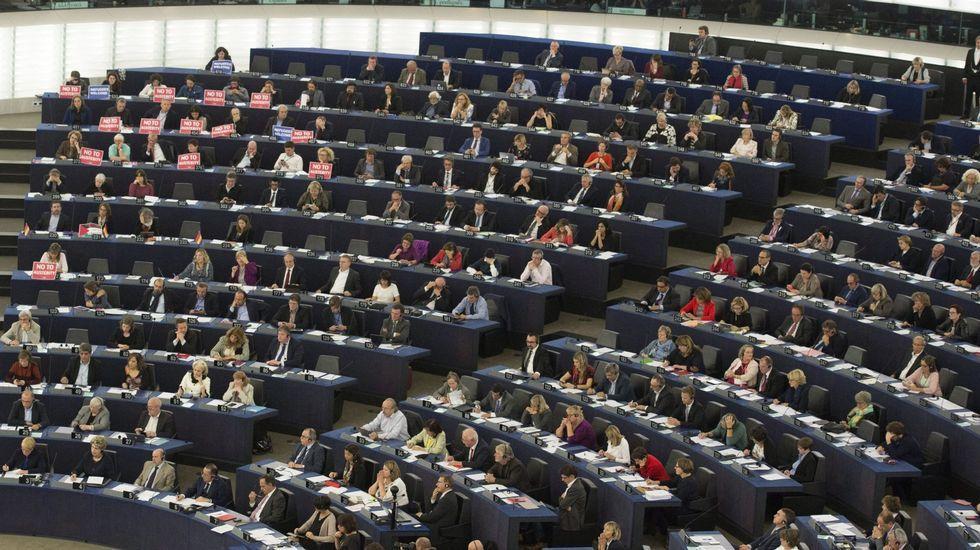 Pleno del Parlamento Europeo en octubre