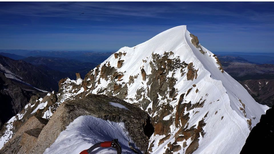 Pico Aiguille Verte, en el Mont Blanc